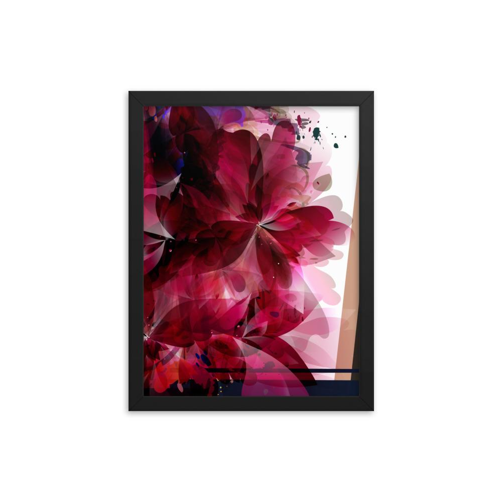 Foral Dance | Framed Poster - WearEasy