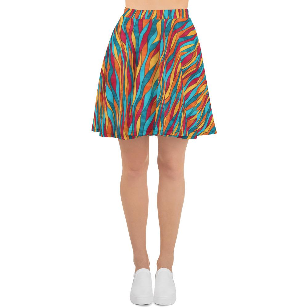 Waves | Skater Skirt - WearEasy