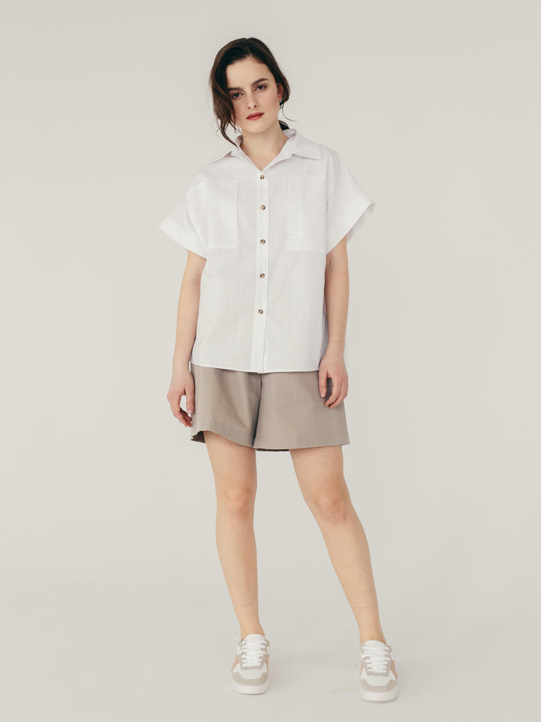 oversized classic shirt for women