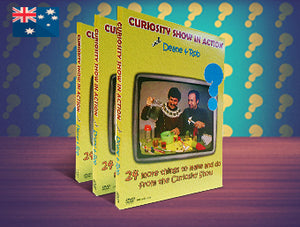 Curiosity Show in Action DVD