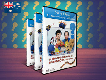 Curiosity Show Collection DVD