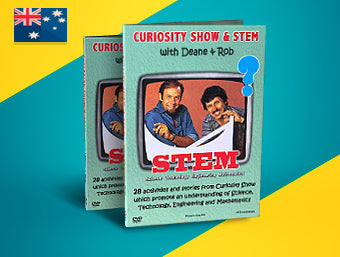 Curiosity Show & STEM DVD