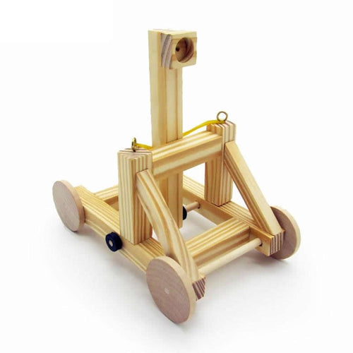 Wooden Catapult Model