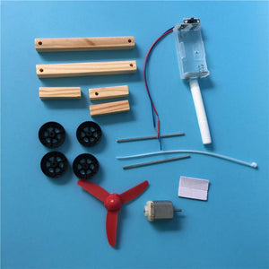 Wind Car Assembly Model Kit