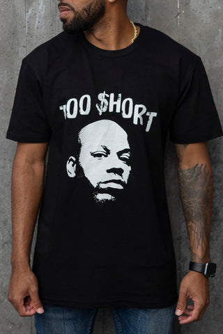 Too $hort Stencil Art - T-Shirt (Black)