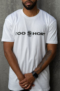 Too $hort Logo - T-Shirt (White)