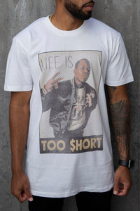 Vintage Life is Too $hort - T-Shirt (White)