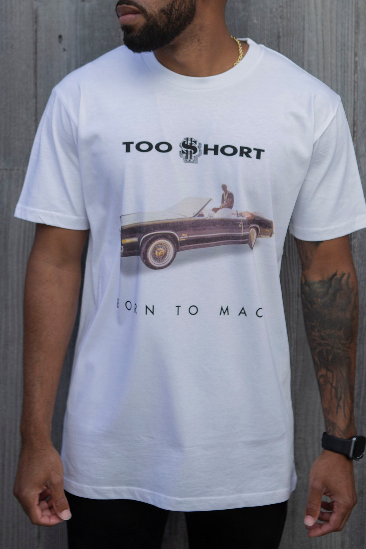 Born to Mack T-Shirt (White)