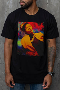 Too $hort Galaxy - T-Shirt (Black)
