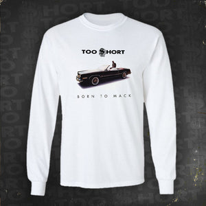 Born to Mack - Long Sleeve T-Shirt (White)