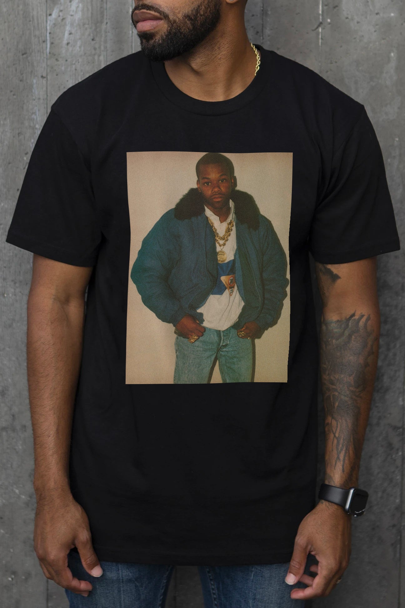 Young $hort - T-Shirt (Black)