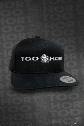 Too $hort Logo Hat - Black