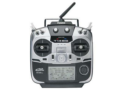 Futaba T14SGH 14CH FASSTest 2.4Ghz Telemetry Radio Transmitter with R7008SB Receiver (mode 2) - SABAvio USA