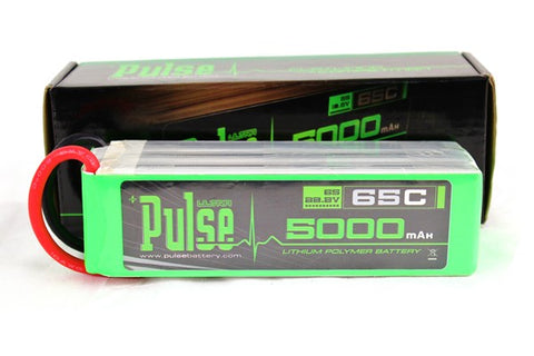 PULSE 5000mAh 6S 22.2V 65C - LiPo Battery - SABAvio USA