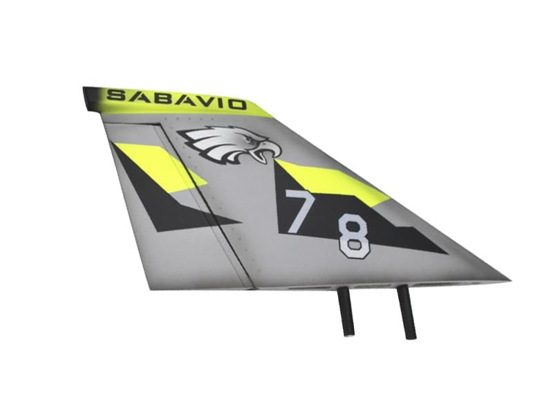 LIZARD RUDDER DX (Right) - HeliDirect
