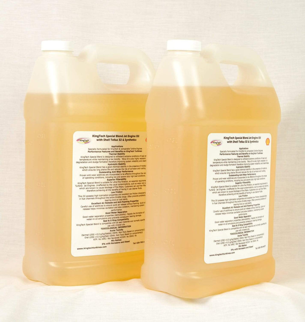 KingTech Jet Turbine KingTech V3 Turbine Oil 2 gallons Fully Synthetic with Recycled Petroleum