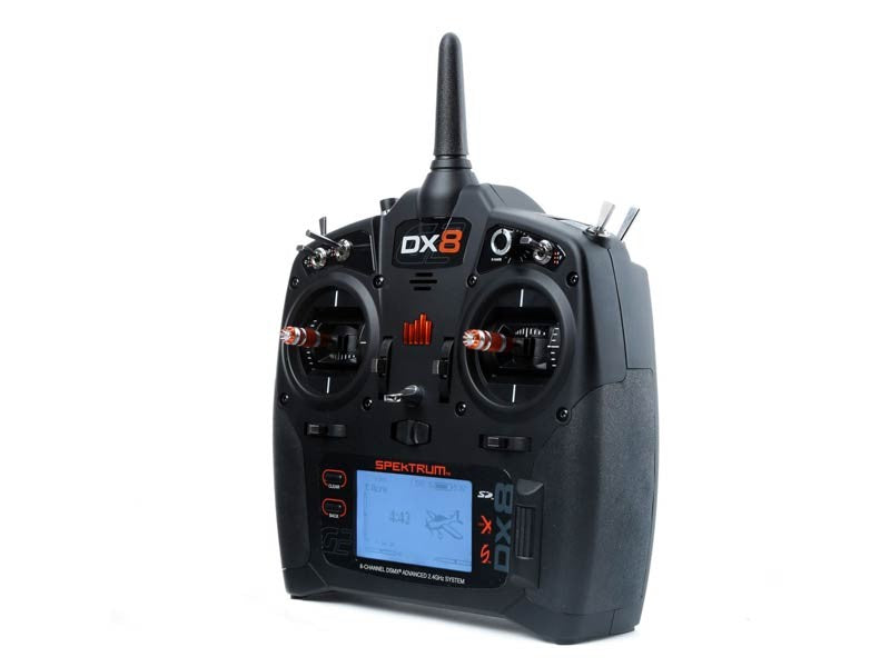 Spektrum DX8 8-Channel DSMX Transmitter Gen 2 - Mode 2 - SABAvio USA