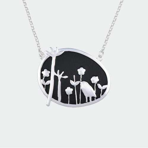 Forest Dream Necklace - Silver