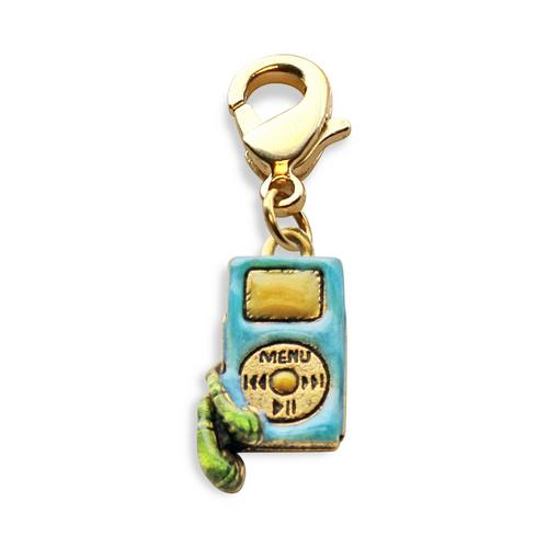 I-Pod Charm Dangle in Gold