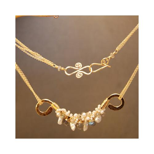 Necklace 283 - Silver