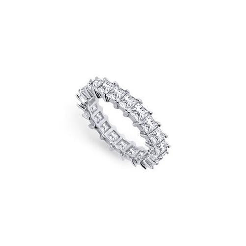 Platinum Diamond Eternity Band : 3.50 CT Diamonds