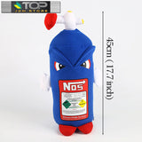 NOS Bottle Monster Doll Pillow Cushion Plush Toy
