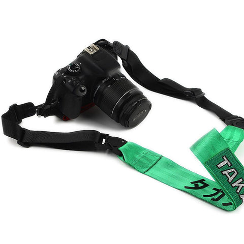 Takata Camera Strap Hologram Green - Top JDM Store