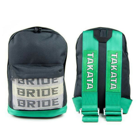JDM Backpack Bride Racing Green - Top JDM Store