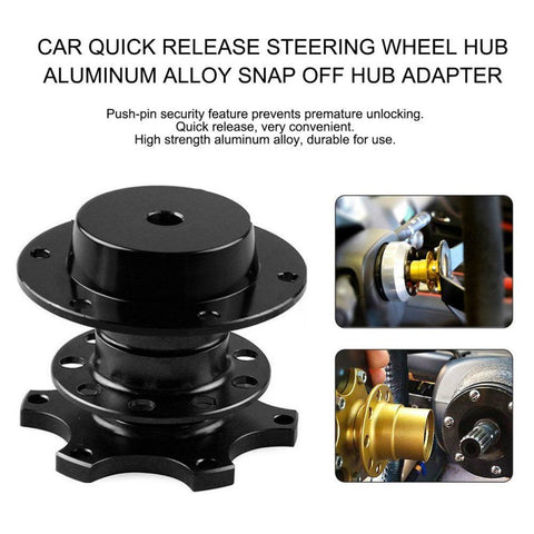 Aftermarket Steering Wheel Hub Quick Release