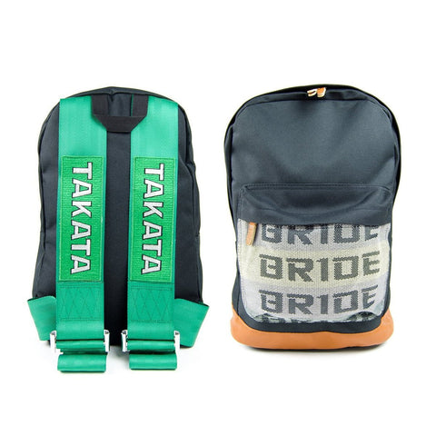 Bride Backpack JDM Racing Green - Top JDM Store