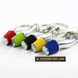 J's Racing Tsuchinoko High Flow Air Intake Filter Keychain