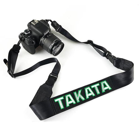 Takata Camera Strap Hologram Black - Top JDM Store