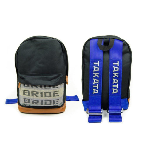 JDM Backpack Bride Racing Blue - Top JDM Store