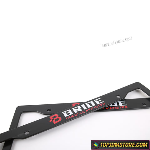 bride holding monster license plate frame,spoon sports license plate framejdm license plate frame,tuner license plate frames,license plate holder,custom license plate frames,front license plate bracket,license plate bracket,number plate frame,license plate mount,car license plate frame