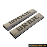 JDM Bride Hyper Fabric Seat Belt Pads