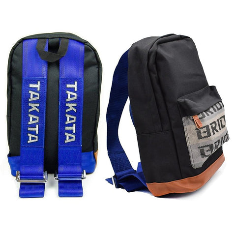 Takata Harness Backpack Blue Straps - Top JDM Store