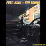 JP-VIP Gold Tsuna Knot and Black Fusa Kiku