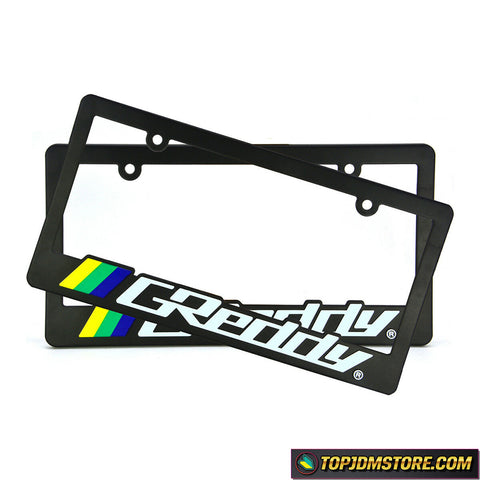 greddy license plate frame,spoon sports license plate framejdm license plate frame,tuner license plate frames,license plate holder,custom license plate frames,front license plate bracket,license plate bracket,number plate frame,license plate mount,car license plate frame