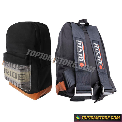 nismo backpack,nismo bride backpack,mugen backpack,mugen bride backpack,bride backpack,jdm backpack,jdm bride backpack,bride racing backpack,car backpack,seatbelt backpack,bride bookbag,bride takata,racing harness backpack,bride jdm,jdm racing backpack