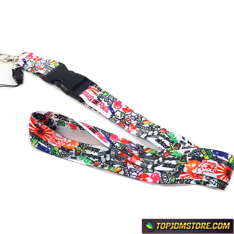 JDM Cartoon Lanyard