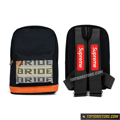 Supreme JDM Backpack Black Straps
