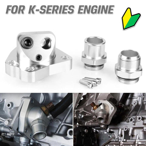 K-Series Swivel Neck Thermostat Housing - Top JDM Store