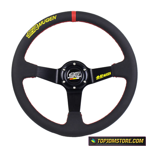 mugen steering wheel,jdm steering wheel,leather steering wheel,racing steering wheel,drift steering wheel,aftermarket steering wheel,race car steering wheel,cheap steering wheel
