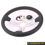 Lightweight Aluminum ND Sport Steering Wheel Italy 14 inch 350mm