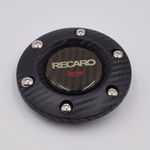 RECARO Aftermarket Racing Carbon Fiber Horn Button - Top JDM Store
