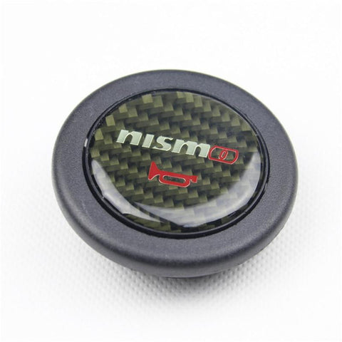NISMO Carbon Fiber Horn Button Switch for Nissan - Top JDM Store