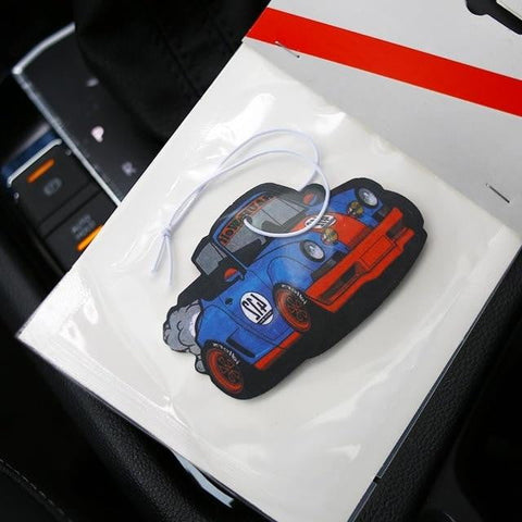 Euro Modified Tuner Car Air Freshener - Top JDM Store
