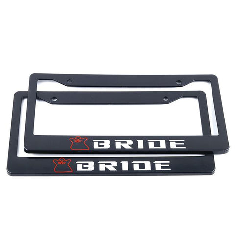 bride racing license plate frame,jdm license plate frame,tuner license plate frames,license plate holder,custom license plate frames,front license plate bracket,license plate bracket,number plate frame,license plate mount,car license plate frame