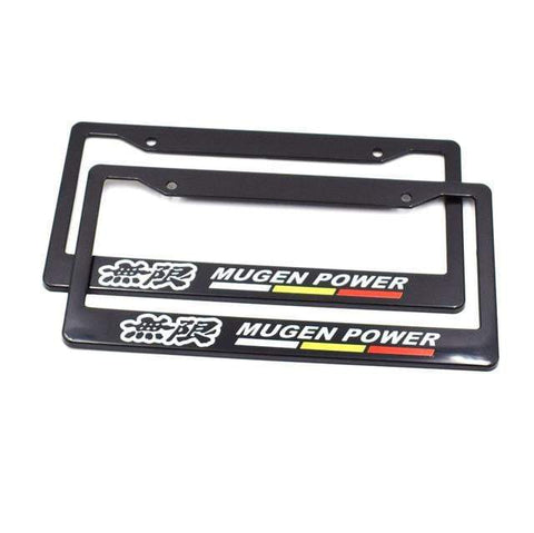 mugen license plate frame,jdm license plate frame,tuner license plate frames,license plate holder,custom license plate frames,front license plate bracket,license plate bracket,number plate frame,license plate mount,car license plate frame