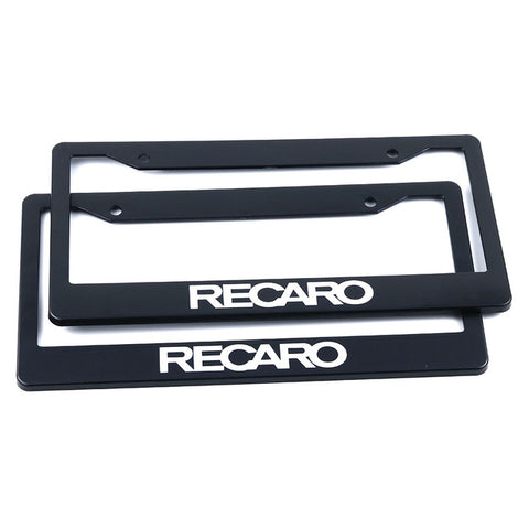 recaro license plate frame,jdm license plate frame,tuner license plate frames,license plate holder,custom license plate frames,front license plate bracket,license plate bracket,number plate frame,license plate mount,car license plate frame